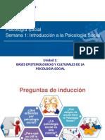 Psicologia Social Presentacion Semana 1