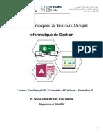 TP &TD Informatique de Gestion S4