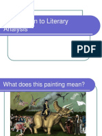 Intro to Literary Analysis