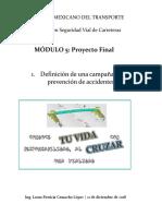 Proyecto Final. Campaña de Prevención de Accidentes