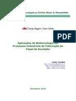 Aplicacao Da Biotecnologia Em Processos Industriais de Papel de Eucalipto