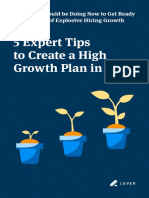 5 Expert Tips to Create a High Growth Plan in 2020