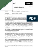 196-18 - Minjus. y Derechos Humanos - Otorgamiento Del Adelanto Para Materiales e Insumos
