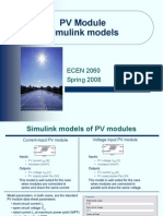 PV Module Model
