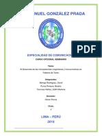 El Desarrollo de Las Competencias Lingüísticas - Comunicativas en Talleres de Texto