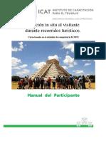 5. Manual de Participante Atencion in Situ Al Visitante Durante Recorridos