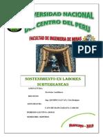 2_Sostenimiento en Labores Subterraneas-Monografia