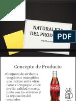 Objeto Virtual de Aprendizaje Naturaleza de Los Productos