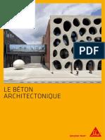 Fr Brochure Beton Architectonique
