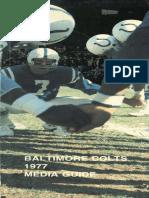 1977 Colts