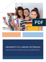 London Tutorials University of London Textbooks 5
