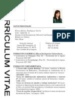 Currículum Vitae - Elvira