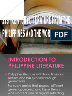 Litt From the Phil to the World Lesson Two