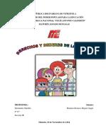 DERECHOS Y DEBERES DE LOS NIÑOS Y ADOLESCENTES 2