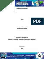 Actividad de Aprendizaje 14 Evidencia 7, Evaluacion de Desempeño