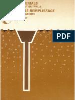 B51 - Filling Materials for Wateringht Cut Off Walls