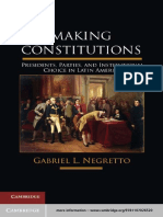 Negretto 2013 Making Constitutions