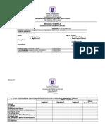 Be Form 7 - School Accomplishment Report