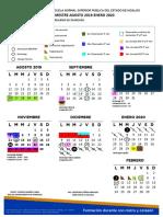 Calendario ensupeh