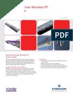Product Data Sheet Downhole Wireless Pt Sensor System Roxar en 81890