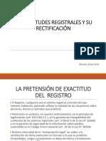 03 PROCEDIMIENTO REGISTRAL V - INEXACTITUDES REGISTRALES.ppt