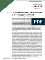 Sarasvati Perennial River Anirban Chatterjee et al 2019