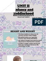 Module 12 Physical Development of Infants and Toddlerhood 1