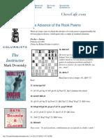 Clases de Ajedrez de Dvoretsky51