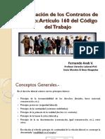 Terminación del contrato artículo 160.pdf