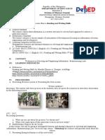 EN1112RWS-IIIa-2.1 Reading and Writing DLP