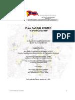 Plan Parcial - Centro Histórico Pasto