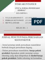 MATERI JURNAL PENUTUP, JURNAL PENYESUAIAN