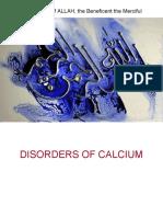 Disorders of Calcium