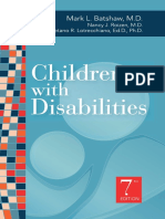 Children With Disabilities Batshaw 7th Ed