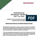 QSB QF Redline Update Binder