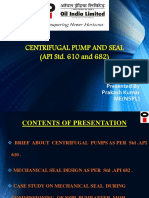 Centrifugal Pumps and Seal