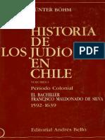 Gunter Bohm Los Judios en Chile