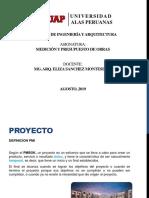 INTRODUCCION DE METRADOS Y PRESUPUIESTOS