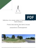 St Drezery - Fiches dents creuses et propositions d'aménagement