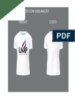 Ump camisa