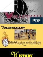 Volleyball Final Topic