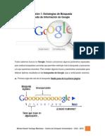 Estrategias de Búsqueda en Google
