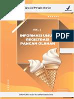 Registrasi pangan olahan E-book bpom