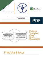 Funciones y Contenido de Los Informes de Evaluación Psicológica en El Contexto Forense