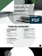 Campo y La Ciudad en Colombia
