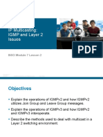 BSCI Module 7 Lesson 2 IGMP and Layer 2 Issues_edited