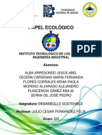 papel ecológico