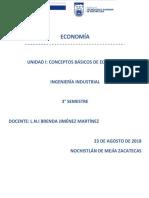 Unidad I Conceptos Básicos de Economía (1)