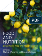 Sample Chapter from Food and Nutrition 4e Edited by Mark L. Wahlqvist and Danielle Gallegos
