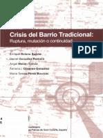 2003_Crisis Del Barrio Tradicional